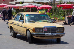 Taxi Morocco Royalty Free Stock Photo