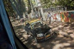 Taxi Mumbai, Indien arkivfoto