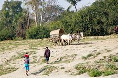 Taxi Myanmar fotografia stock libera da diritti