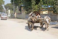 Taxi Myanmar immagine stock libera da diritti