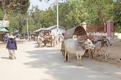 Taxi Myanmar Fotografia Stock