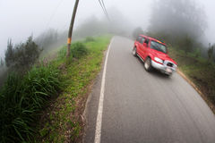 Taxi near Monteverde Costa Rica Stock Photos