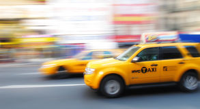 Taxi in New York Royalty Free Stock Photos