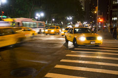 Taxi in New York Royalty Free Stock Image