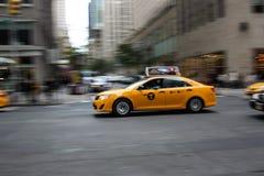 Taxi in New York Stockfotos