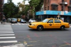 Taxi in New York Stockfotografie