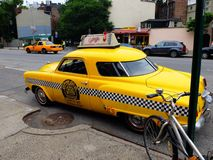 Taxi in new York stock photography