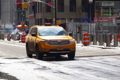 Taxi, New York royalty free stock images