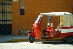 Taxi in Oaxaca Stock Foto's