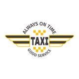 Taxi odznaki wektoru ilustracja Obraz Royalty Free