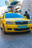Taxi in Palestine Stock Photography