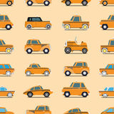 Taxi pattern Stock Images