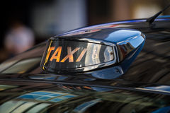 Taxi for people with disabilities Stock Images