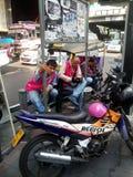 Taxi popolare del motociclo in Tailandia Fotografie Stock Libere da Diritti