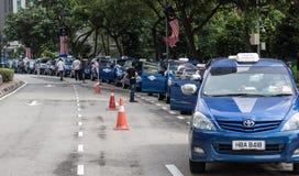 Taxi Queue Stock Photography