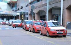 Taxi queue Kuala Lumpur. Taxies queue at KL Sentral station in Kuala Lumpur Malaysia stock images
