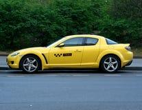 Taxi racer Stock Photo