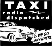Taxi Radio Dispatched Royalty Free Stock Image