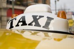 Taxi retro Foto de archivo libre de regalías