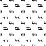 Taxi rickshaw pattern seamless vector stock illustration