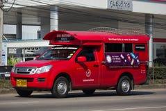 Taxi rosso Chiang Mai Servizio in città ed intorno Fotografie Stock