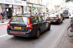Taxi samochody Obrazy Royalty Free