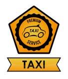 Taxi service design Royalty Free Stock Photos