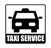 Taxi service Stock Image