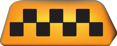 Taxi service symbol Stock Images