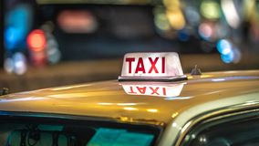 Taxi Service For Travel Transportation royalty free stock photo