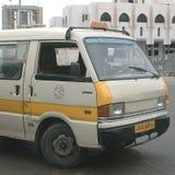 Taxi service in Tripoli. Tripoli, Lybia - May 28, 2002: Taxi in Tripoli Stock Photography