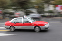 Taxi in Shanghai Royalty Free Stock Photos