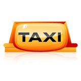 Taxi sign Royalty Free Stock Photos