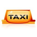Taxi sign Royalty Free Stock Photos