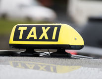 Taxi sign Royalty Free Stock Image