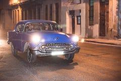 Taxi spółdzielnia Hawańska Obrazy Royalty Free