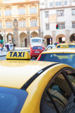 Taxi Stand Stock Image