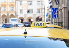 Taxi Stand Stock Images