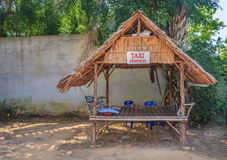 Taxi stand in Krabi Thailand Stock Photos