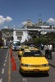 Taxi Station in Quito Royalty Free Stock Photos