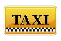 Taxi Symbol Stock Photo