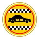 Taxi symbol Royalty Free Stock Photo