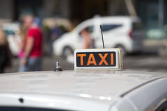 Taxi Royalty Free Stock Image
