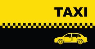 Taxi tło Obrazy Royalty Free