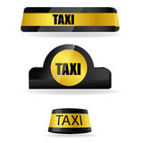 Taxi tags Royalty Free Stock Photos