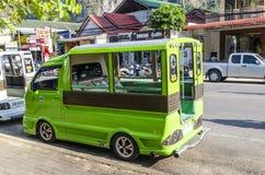 Taxi tailandese tradizionale di stile. fotografie stock libere da diritti