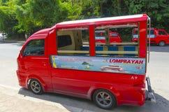 Taxi tailandese tradizionale di stile. fotografia stock