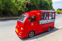 Taxi tailandese tradizionale di stile. immagini stock libere da diritti