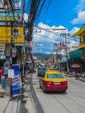 Taxi in Tailandia fotografia stock