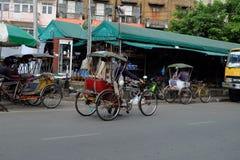 Taxi Tailandia della bicicletta Immagini Stock Libere da Diritti